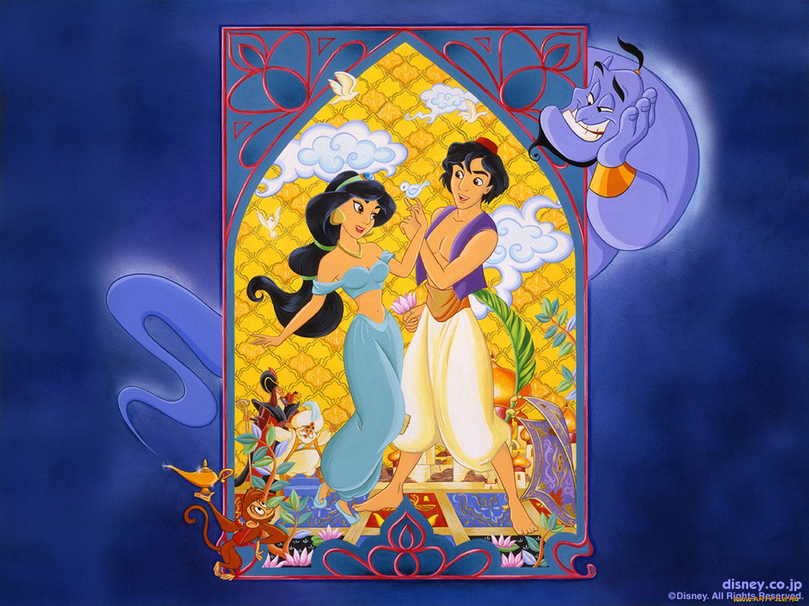Мультфильмы Aladdin.